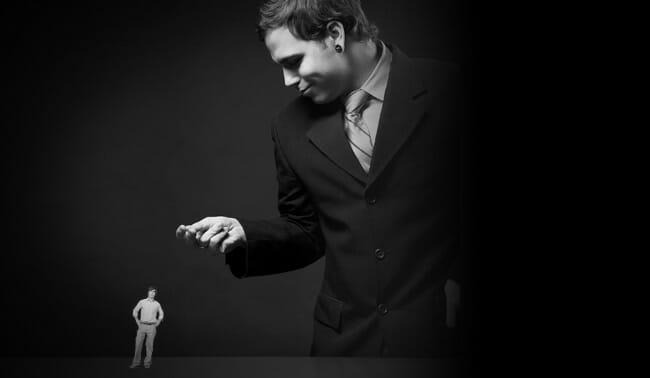 egotistic person