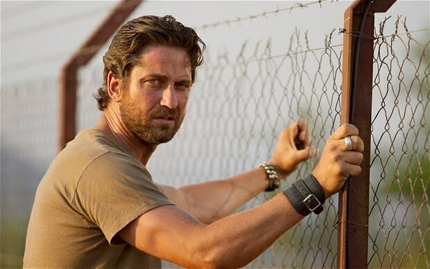 Gerard Butler saved a young boy from drowning